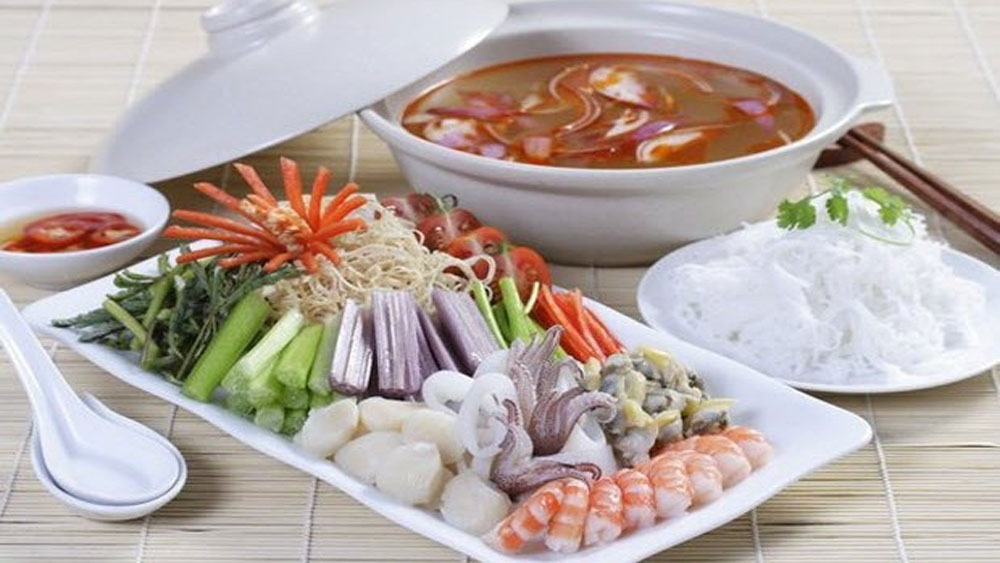 Cuttlefish Hotpot,  good size, special flavor, delicious and inexpensive,  local hotpot, particular qualities, Cuttlefish hotpot