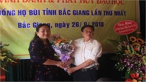 Hội đồng họ Bùi tỉnh Bắc Giang tổ chức điểm lễ vinh danh và phát huy đạo học