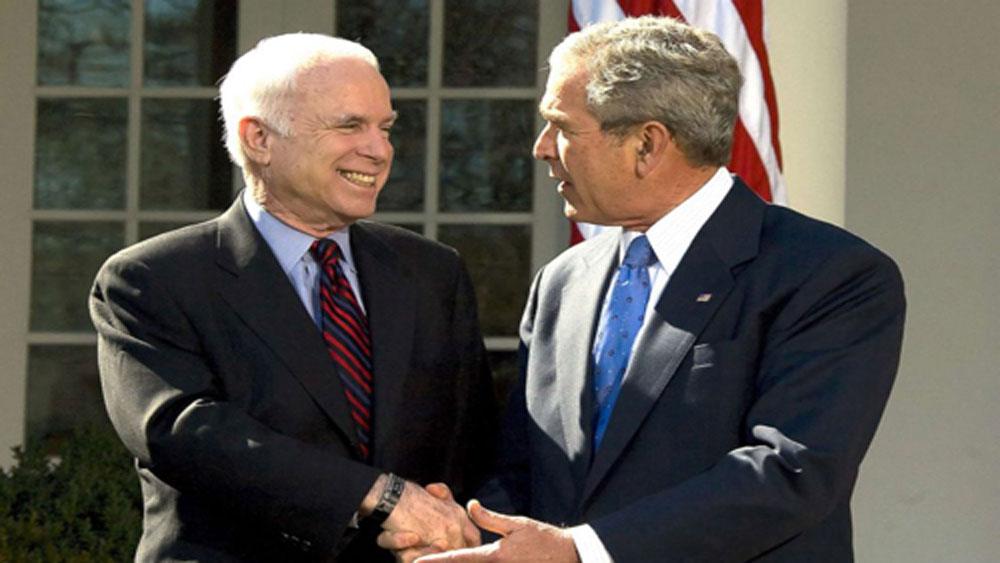 Bush nhận lời đọc điếu văn tại tang lễ John McCain