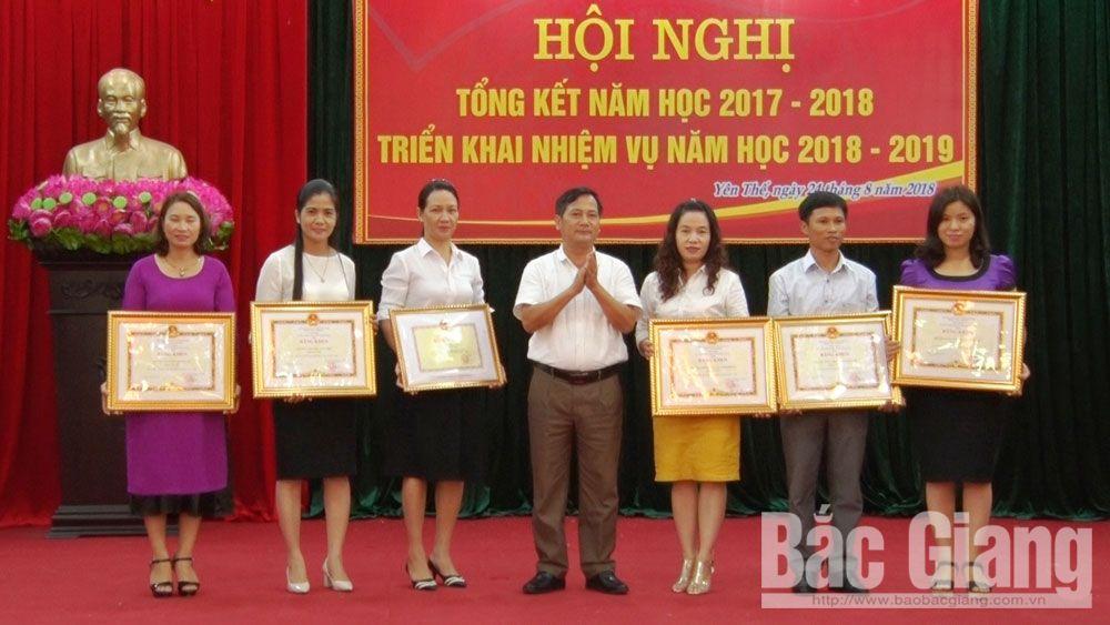 Yên Thế triển khai nhiệm vụ năm học 2018 - 2019