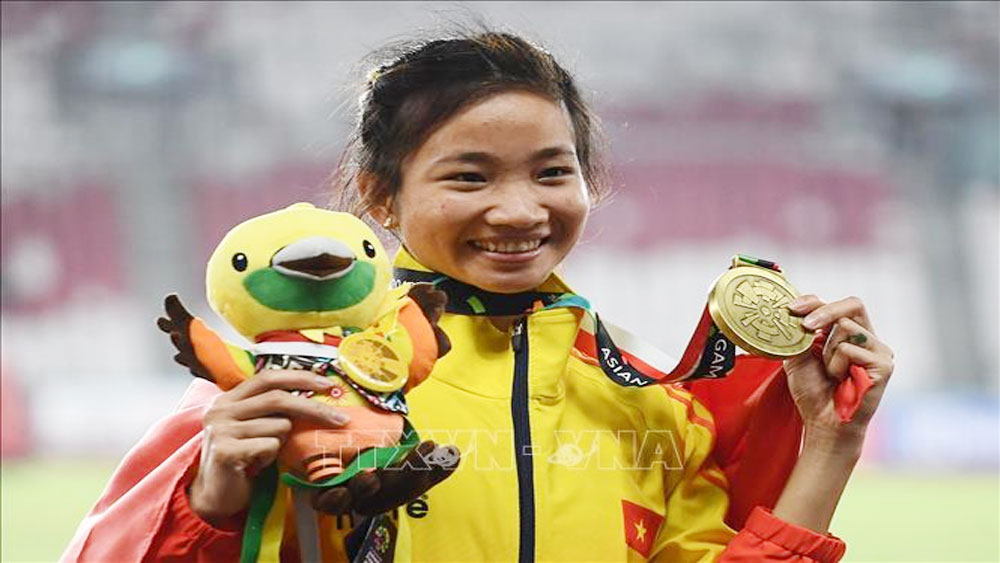 Nguyen Thi Oanh wins bronze medal at ASIAD 2018