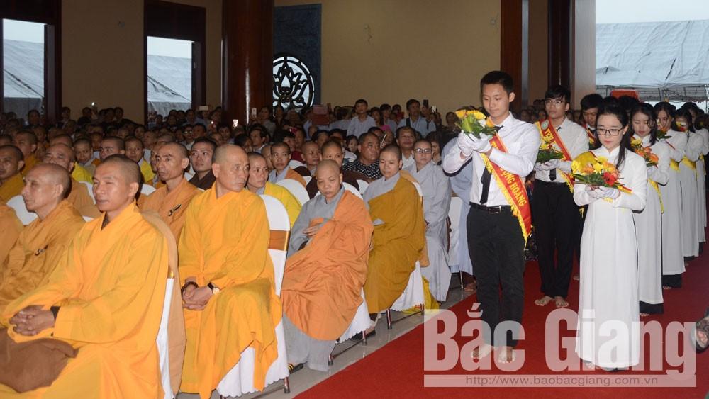 Yên Dũng, khánh thành, chính điện, Thiền viện, Báo Bắc Giang, Bắc Giang