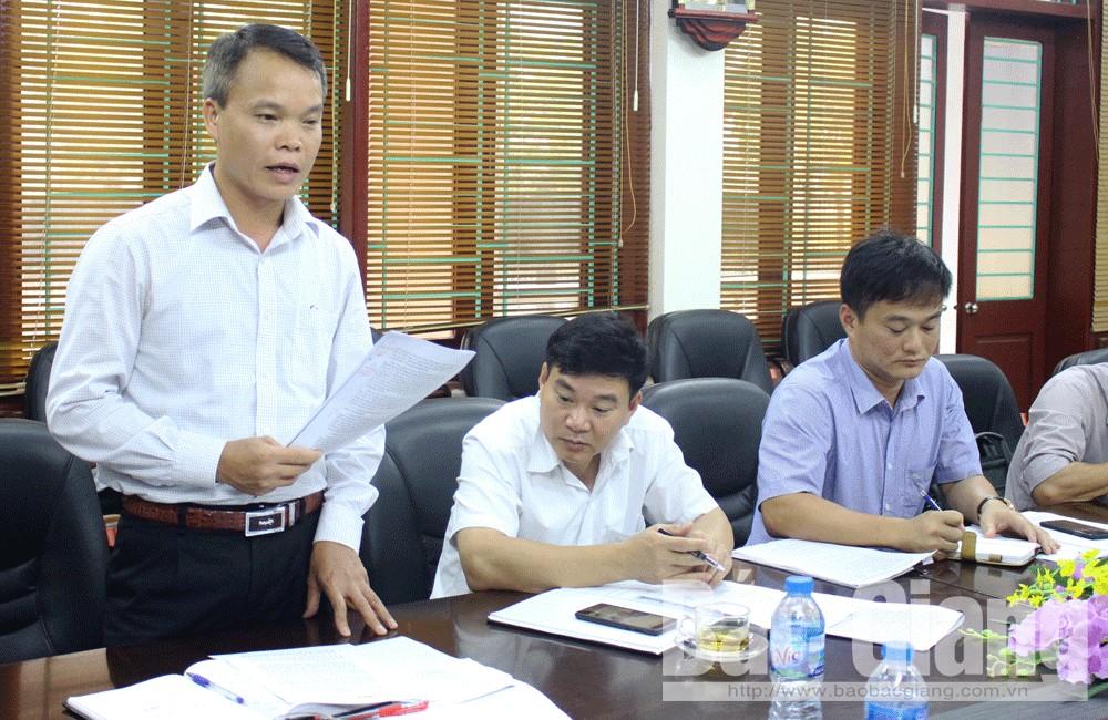 Bắc Giang, Tân Yên, HĐND tỉnh, giám sát, môi trường