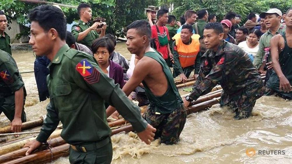 Vỡ đập tại Myanmar, hơn 50 nghìn người phải sơ tán