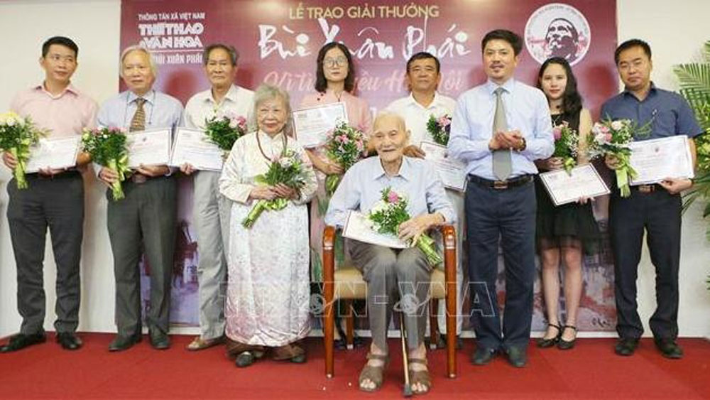 Winners of 'Bui Xuan Phai – For Love of Hanoi' announced