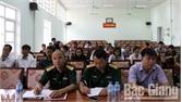 Bồi dưỡng kiến thức quốc phòng và an ninh cho hơn 200 người có uy tín