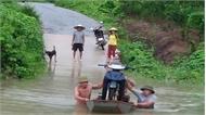 Nhiều học sinh miền núi nghỉ học vì mưa lũ