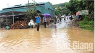 Ứng phó mưa lớn tại Bắc Giang: Bảo đảm an toàn hồ đập, di dời hộ dân khỏi vùng nguy hiểm
