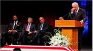 Cựu Phó Tổng thống Mỹ đọc điếu văn tại lễ truy điệu John McCain
