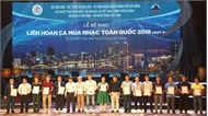 Liên hoan Ca múa nhạc toàn quốc 2018 đợt 2 trao 49 HCV, 31 HCB