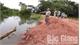 Lạng Giang huy động hơn 100 người khắc phục sự cố bờ vùng
