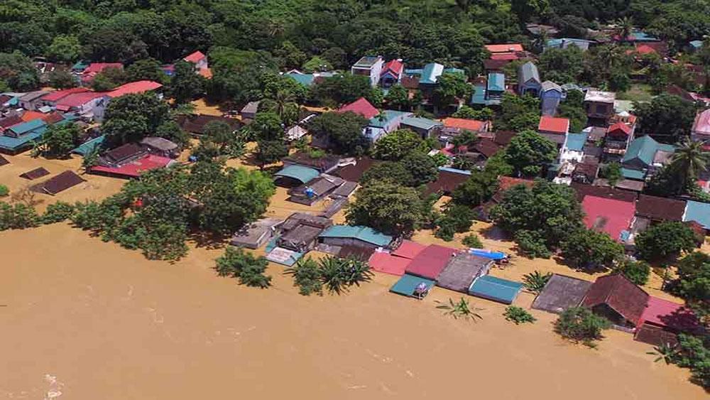 Lũ đổ, Thanh Hóa - Nghệ An còn lụt