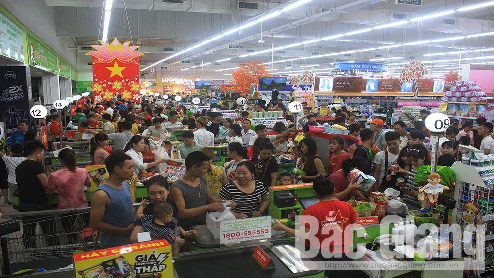 Nhiều địa điểm vui chơi, mua sắm ở TP Bắc Giang quá tải