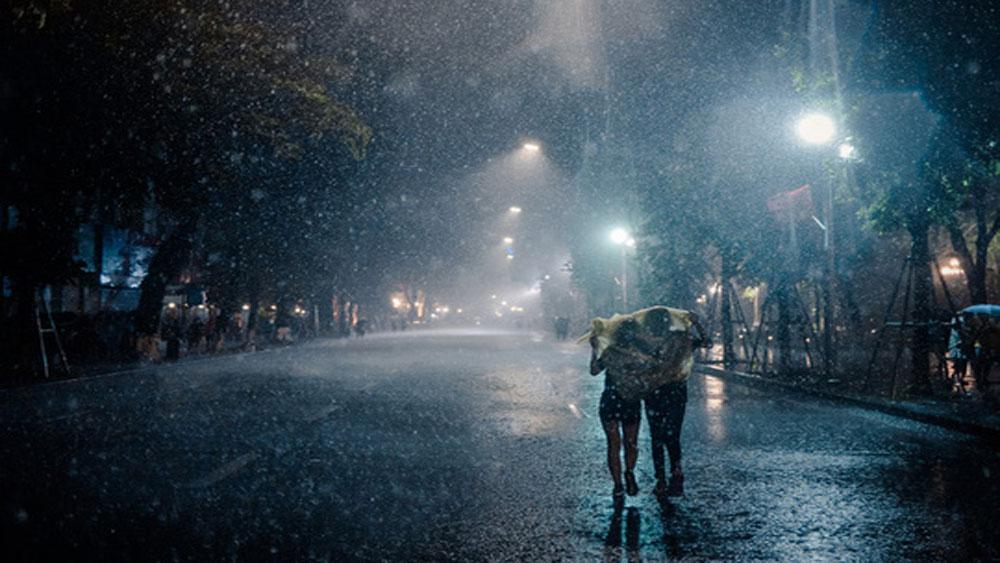Mưa diện rộng ở Tây Bắc và Việt Bắc kéo dài từ đêm 2 đến 3-9