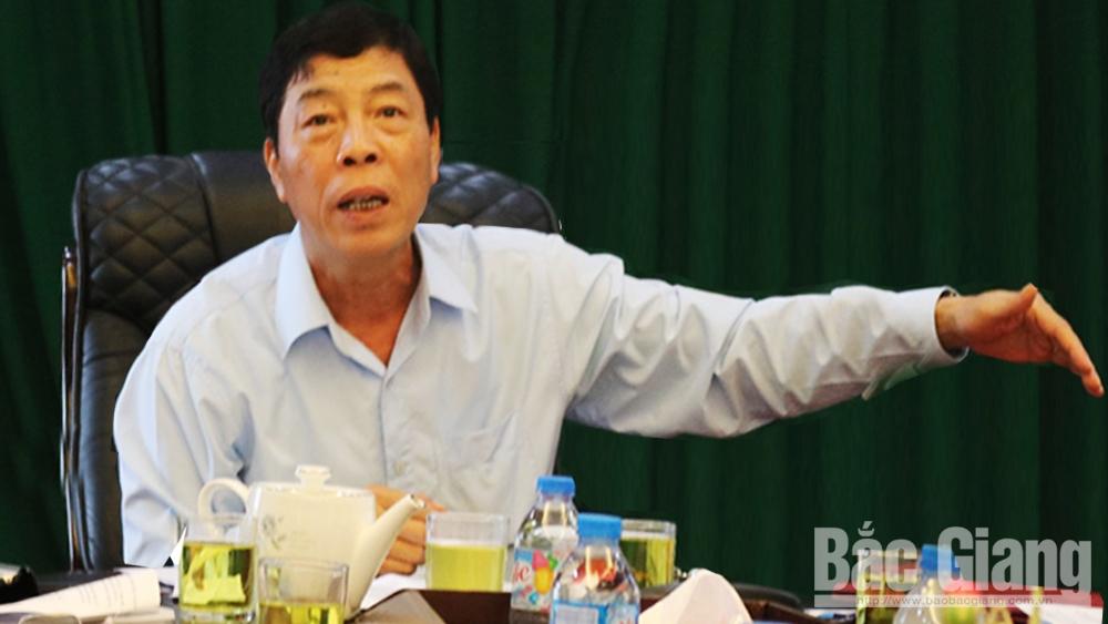 Bắc Giang đẩy nhanh tiến độ giải phóng mặt bằng dự án đường vành đai IV (Hà Nội) và KCN Hòa Phú