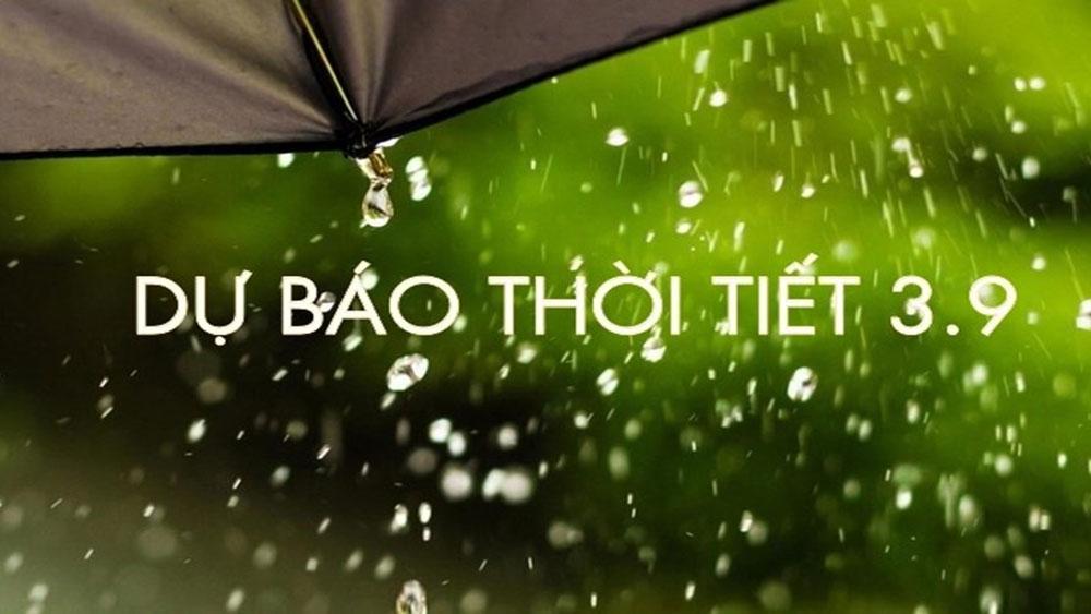 Các tỉnh Bắc Bộ tiếp tục có mưa vừa, mưa to