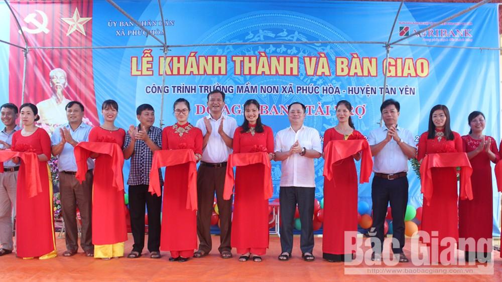 Hơn 2,7 tỷ đồng xây dựng Trường Mầm non xã Phúc Hòa