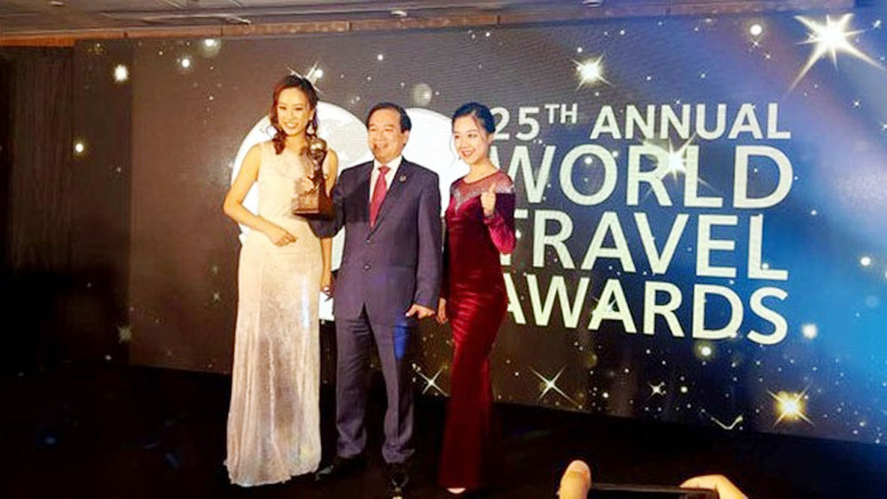 Vietnam wins world travel award