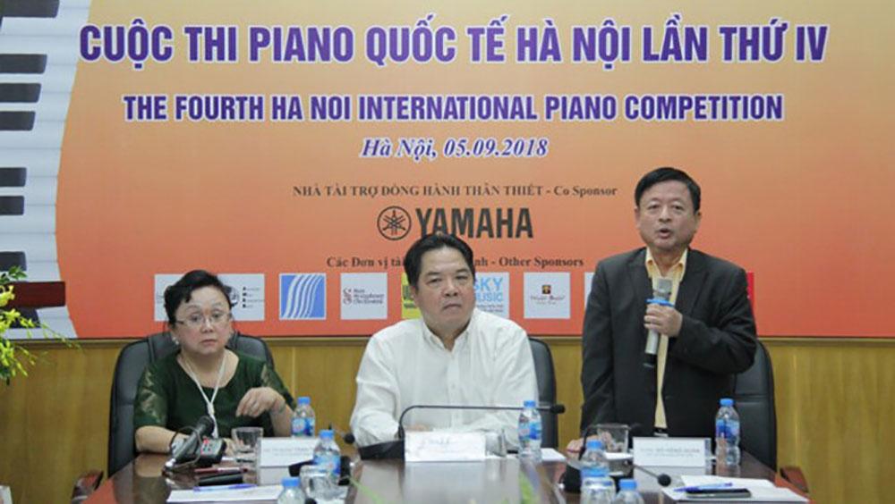 82 thí sinh tham gia cuộc thi piano quốc tế Hà Nội lần thứ 4
