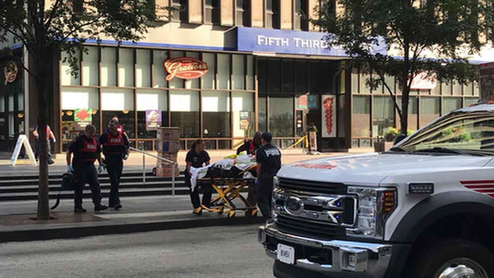 Xả súng, ngân hàng Mỹ, 4 người, thiệt mạng