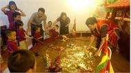 Mô hình rối nước thu nhỏ cùng nghệ sĩ Phan Thanh Liêm có mặt tại Italia và Pháp