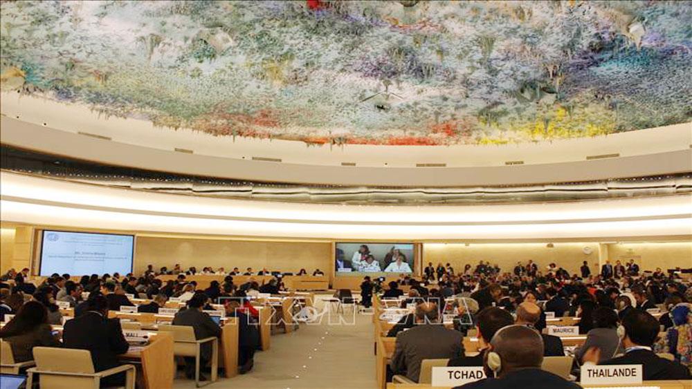 39th session, United Nation, Human Rights Council, international and non-governmental organisations, Vietnamese delegation, Ambassador Duong Chi Dung, human rights