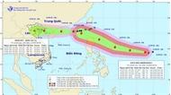 Bão số 5 có thể đi vào khu vực Bắc Biển Đông trong ba ngày tới