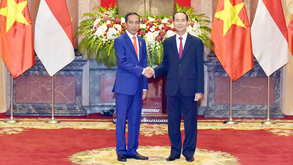 Vietnam, Indonesia Presidents look to lift two-way trade to US$10 billion