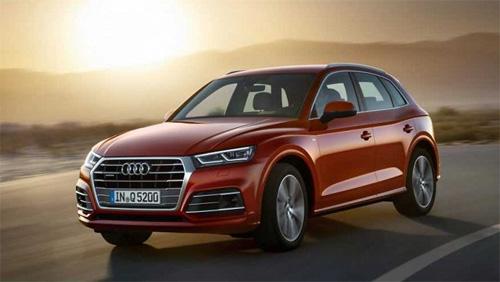 Dàn xe hạng sang Audi phục vụ Diễn đàn Kinh tế Thế giới về ASEAN tại Việt Nam