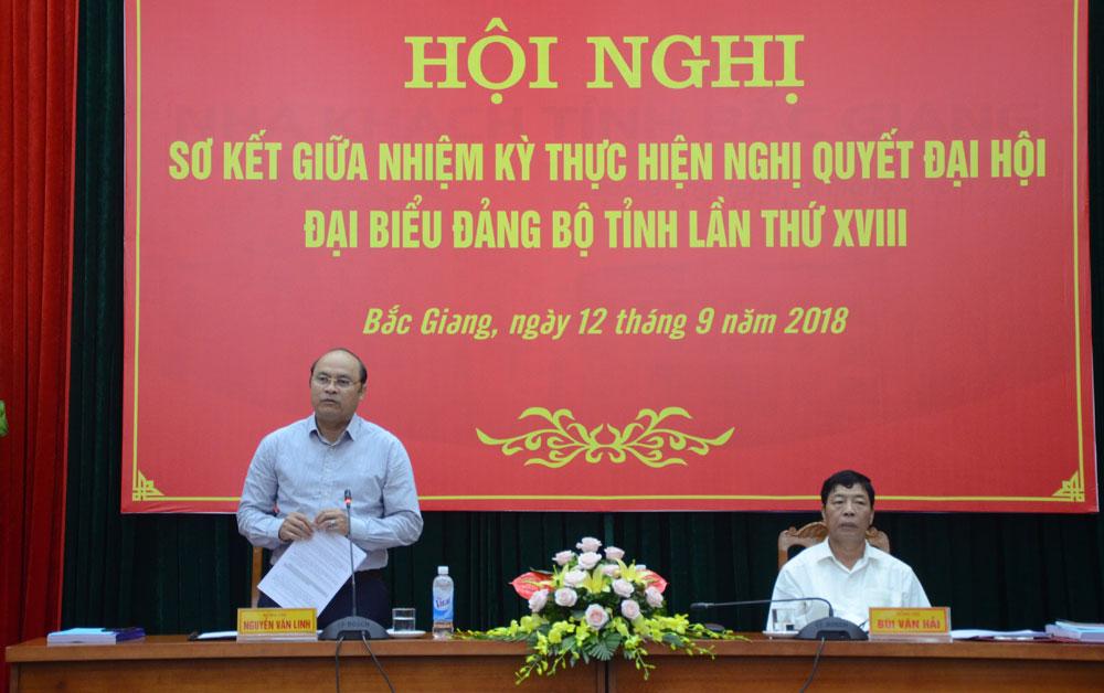 Sơ kết, nghị quyết, Đại hội Đảng bộ tỉnh