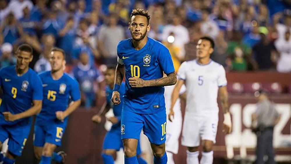 Neymar, châm ngòi, Brazil, thắng tưng bừng