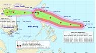 Bão số 5 sẽ ảnh hưởng đến các tỉnh Quảng Ninh - Nam Định
