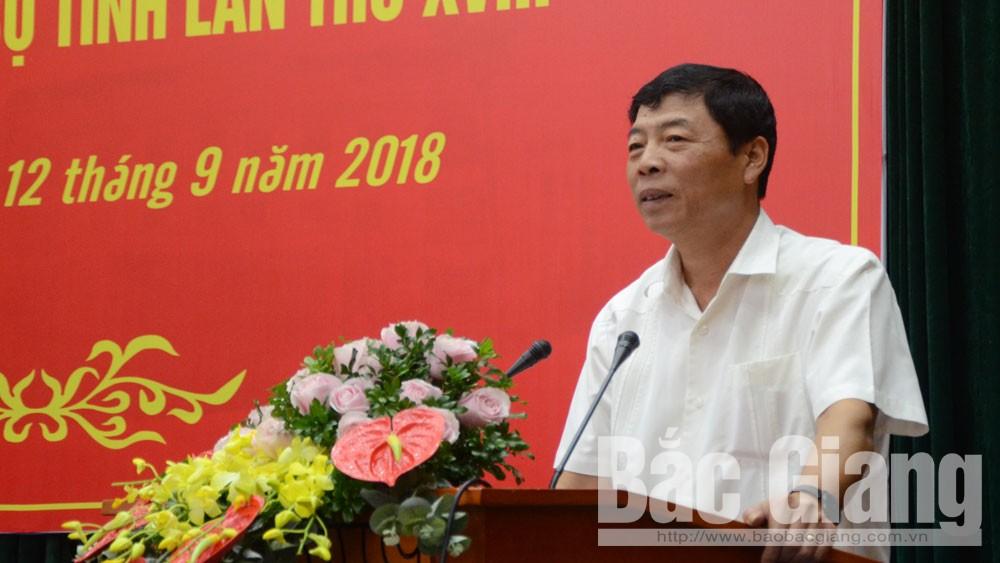 Bí thư Bùi Văn hải, Bắc Giang, nửa nhiệm kỳ, Đại hội XVIII