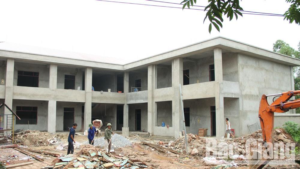 Lục Nam sáp nhập 18 trường học tại 9 xã, thị trấn