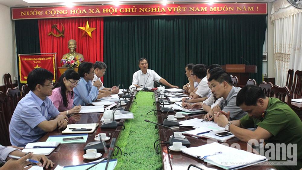 Quan tâm xử lý nước thải, rác thải. TP Bắc Giang