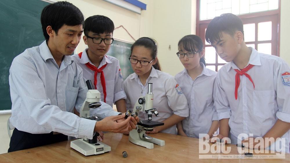 Bắc Giang, Tân Yên, Phạm Thanh Hải, học sinh giỏi, Trường THCS thị trấn Cao Thượng