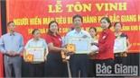 TP Bắc Giang tôn vinh 160 điển hình hiến máu tiêu biểu