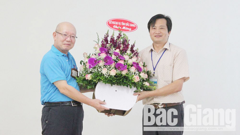 Bac Giang province, diplomatic relation,Japanese partners, 45th anniversary, Vietnam – Japan diplomatic relation, Department of Foreign Affairs, Japanese enterprises, huge investment capital, efficient operation, utmost favorable conditions