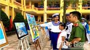 Sơn Động: Trao giải cuộc thi vẽ tranh về chủ quyền biển đảo của Tổ quốc