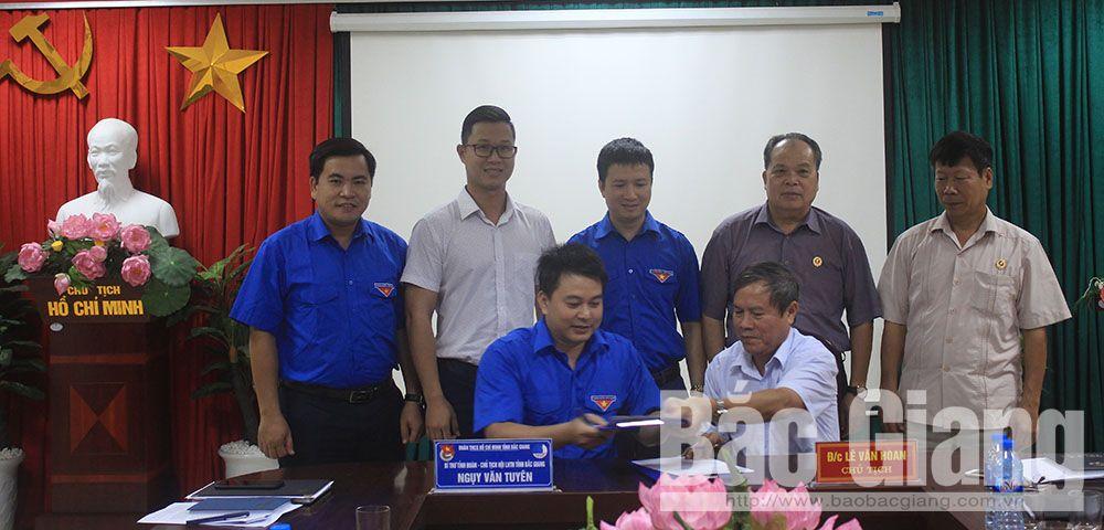 Tỉnh đoàn, Hội Cựu Chiến binh, Bắc Giang, giáo dục lý tưởng, đồng hành với thanh niên, bảo vệ tổ quốc