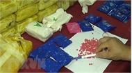 Bắt giữ đối tượng xách tay một khối lượng lớn ma túy qua biên giới