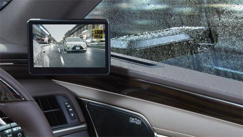 Lexus sẽ là hãng xe đầu tiên dùng camera thay gương chiếu hậu