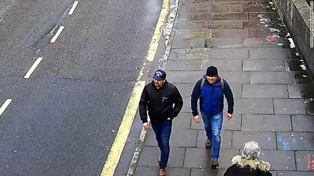 Hai công dân Nga, bị cáo buộc, đầu độc, cựu điệp viên Skripal
