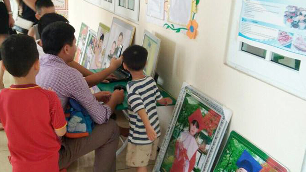 Phòng Giáo dục và Đào tạo TP Bắc Giang đã chấn chỉnh việc chụp ảnh trong các trường mầm non