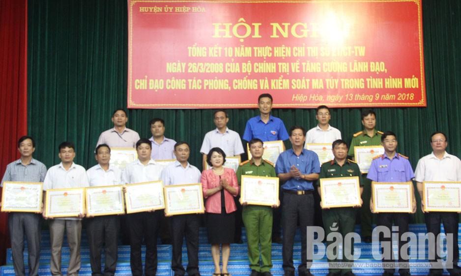 Huyện ủy Hiệp Hòa tổng kết 10 năm thực hiện Chỉ thị 21-CT/TW của Bộ Chính trị (khóa X)