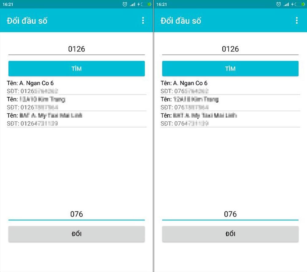 Cách chuyển danh bạ điện thoại, 11 số về 10 số, Android và iOS, nhanh chóng và thuận tiện