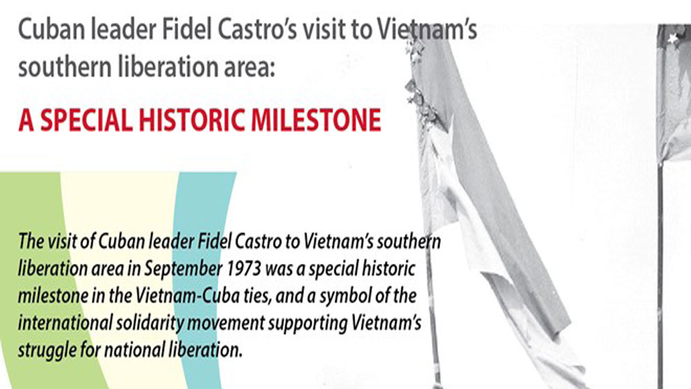 Significance of Fidel Castro's visit to Vietnam in 1973