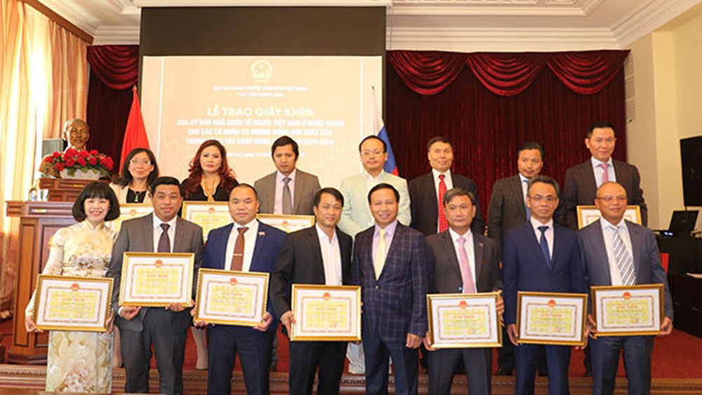 Outstanding Overseas Vietnamese nationals in Russia honoured