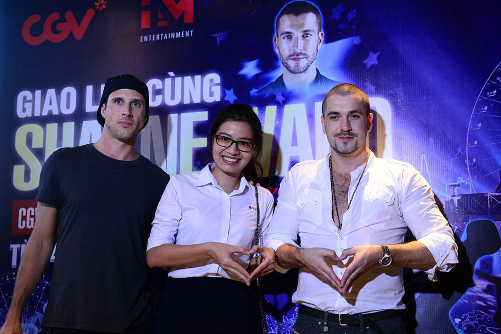 English singer, Shayne Ward, Hanoi, singer and actor, Vietnamese artists, Live for Love, Vietnam Green Architecture Week, best experience, meaningful messages, Southeast Asian nation