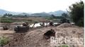 Khai thác cát sỏi lòng sông trái phép tại huyện Sơn Động